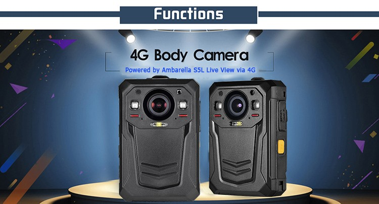 Mini WIFI,GPS,3G,4G Body Worn Camera - 7