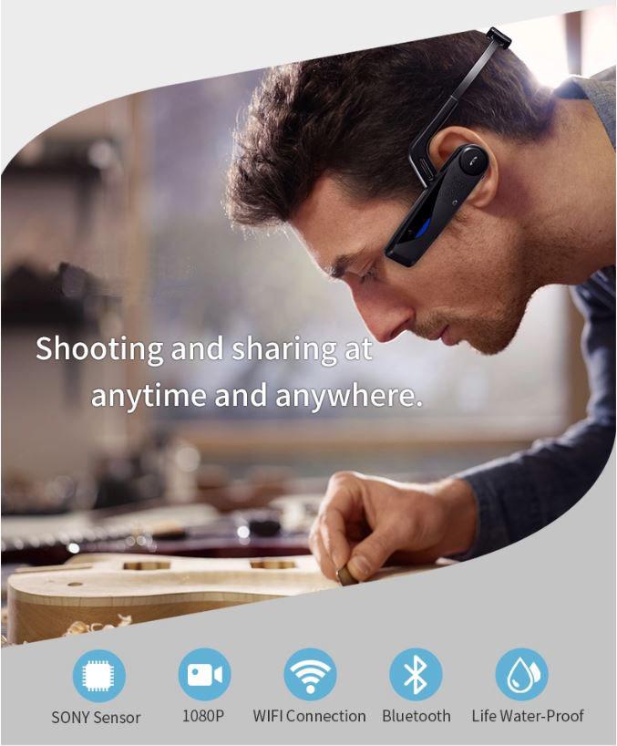 Mini Wearable Headset Body Worn Camera 14