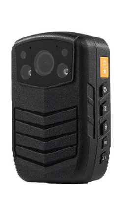 Secure Mini Body Worn Camera with AES256 & RSA2048 Encryption (With LCD Screen) - 1 250px