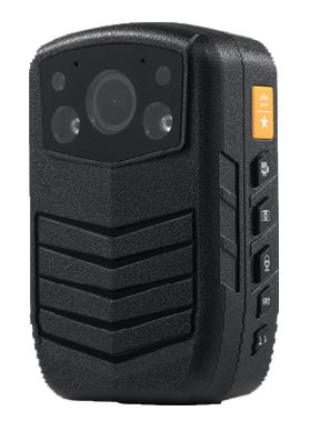 Secure Mini Body Worn Camera with AES256 & RSA2048 Encryption (With LCD Screen) - 1