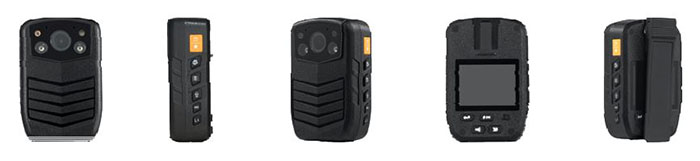 Secure Mini Body Worn Camera with AES256 & RSA2048 Encryption (With LCD Screen) - 2