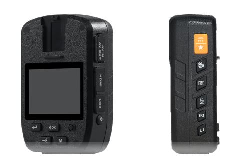Secure Mini Body Worn Camera with AES256 & RSA2048 Encryption (With LCD Screen) - 7