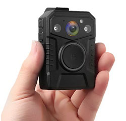 Secure Mini Body Worn Camera with AES256 & RSA2048 Encryption (Without LCD Screen) - 1 250px