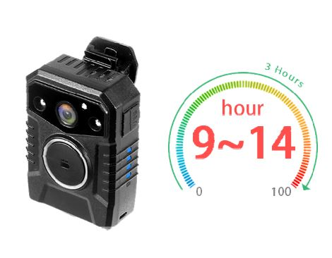 Secure Mini Body Worn Camera with AES256 & RSA2048 Encryption (Without LCD Screen) - 4