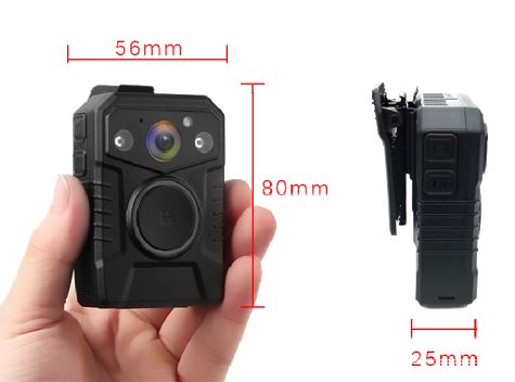 Secure Mini Body Worn Camera with AES256 & RSA2048 Encryption (Without LCD Screen) - 5