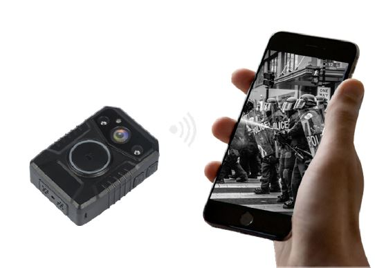 Secure Mini Body Worn Camera with AES256 & RSA2048 Encryption (Without LCD Screen) - 9