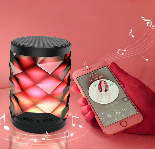 4K WIFI Bluetooth Speaker Lamp Camera with Two-way Talk - 4