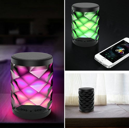 4K WIFI Bluetooth Speaker Lamp Camera with Two-way Talk - 6