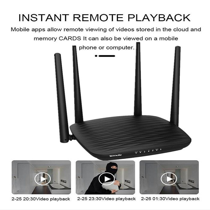 SPY296 - 4K WIFI Router Camera, HD 4K2K, Hisilicon 3518E, 2.0MP Camea,TF Max 128G 02- 700x