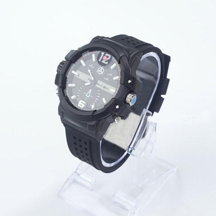 SPY301 - Kamera 2K Watch dengan pencahayaan rendah, HD1296P 30fps, H.264 MOV, Dibangun di 16G, Tahan Air 03