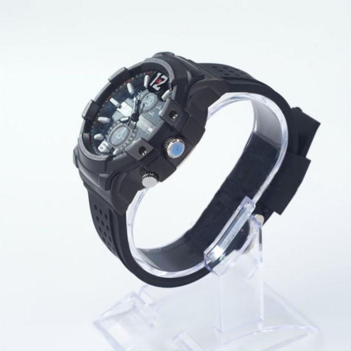 SPY301 - Kamera 2K Watch dengan pencahayaan rendah, HD1296P 30fps, H.264 MOV, Dibangun di 16G, Tahan Air 04