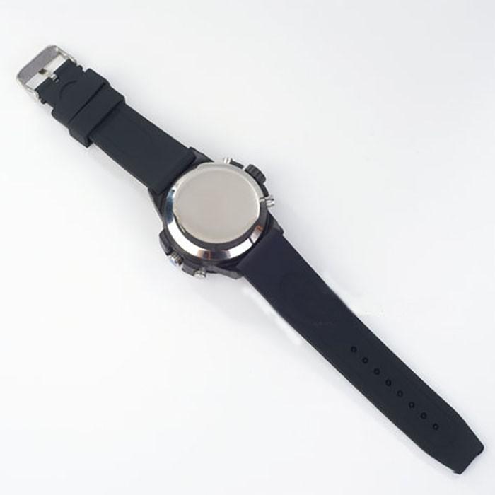 SPY301 - Kamera 2K Watch dengan pencahayaan rendah, HD1296P 30fps, H.264 MOV, Dibangun di 16G, Tahan Air 07