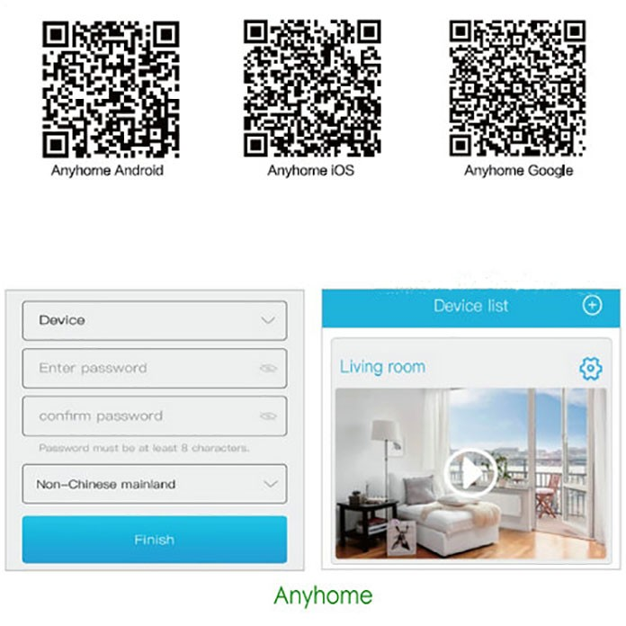 SPY303 - Camera WIFI Smart Doorbell, chilieta HisNicon 3518E, senzor PIR, Nightvision, discuție în două sensuri 13