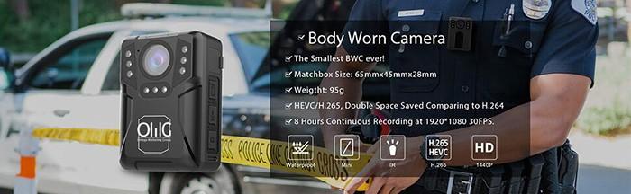 BWC071 - Extra Mini Body Worn Camera 01-1 700x