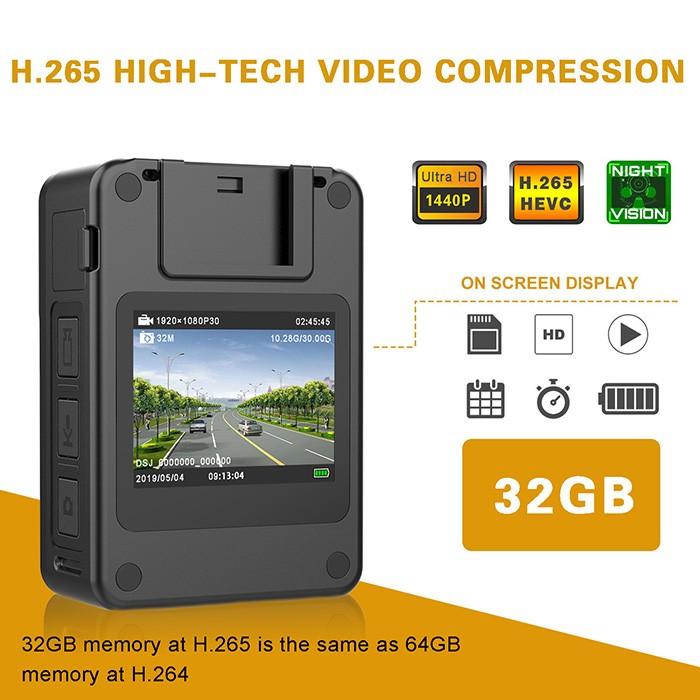 BWC071 - Extra Mini Body Worn Camera 01 700x