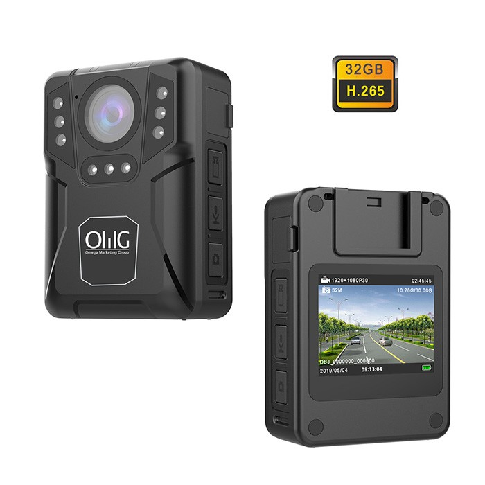 BWC071 - Extra Mini Body Worn Camera 03 700x