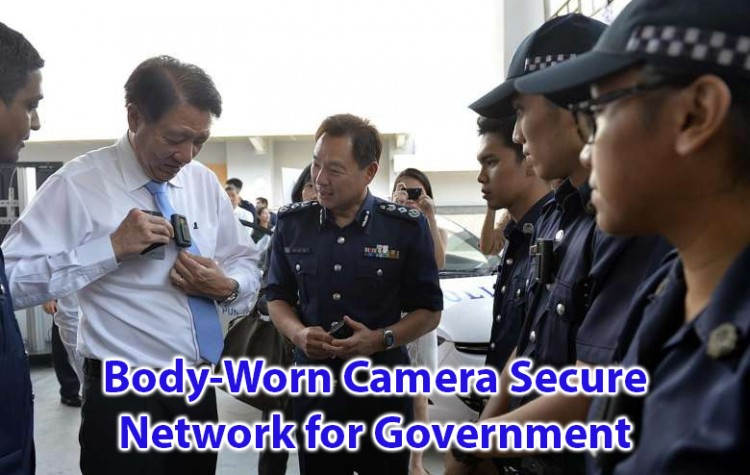 Body worn camera secure network for government