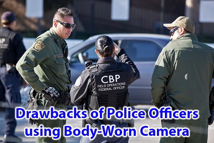 Slabe strani policistov, ki uporabljajo karoserijo