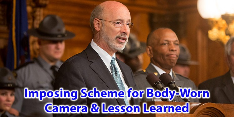 Imposing Scheme for Body Worn Camera and Lesson Learned