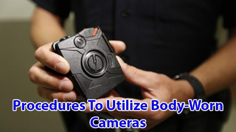 Prosedur untuk Menggunakan Kamera yang Dipakai Tubuh