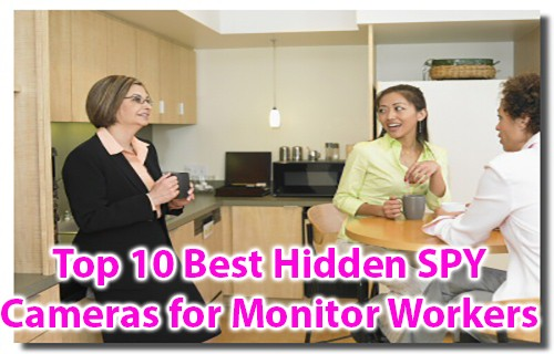 Top 10 Best Hidden SPY Cameras for Monitor Workers