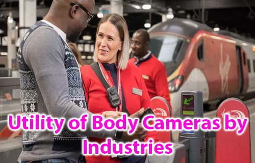 Utility of Body cameras by industries