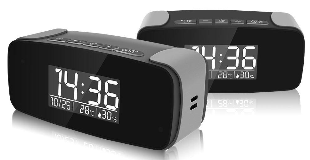SPY330 - Mini Clock WiFi Security Camera main