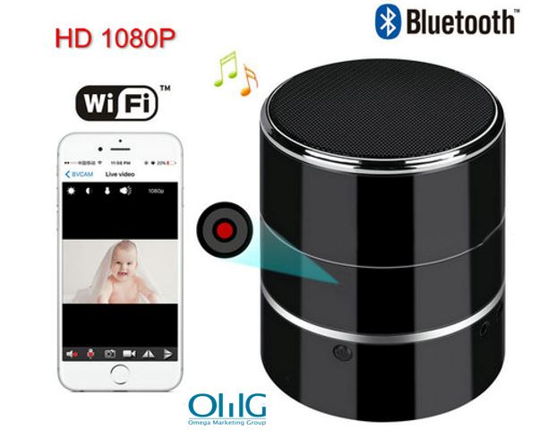 Bluetooth Music Player WIFI Camera