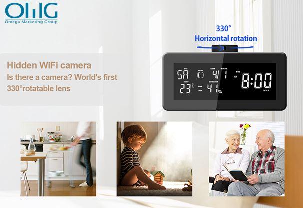 HD 1080P Weather Radio Security Wi-Fi Camera