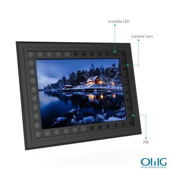 HD 720P լուսանկարների շրջանակ Թաքնված լրտեսական խցիկ