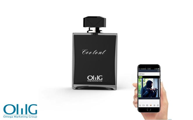 Perfume Bottle Hidden Spy Camera