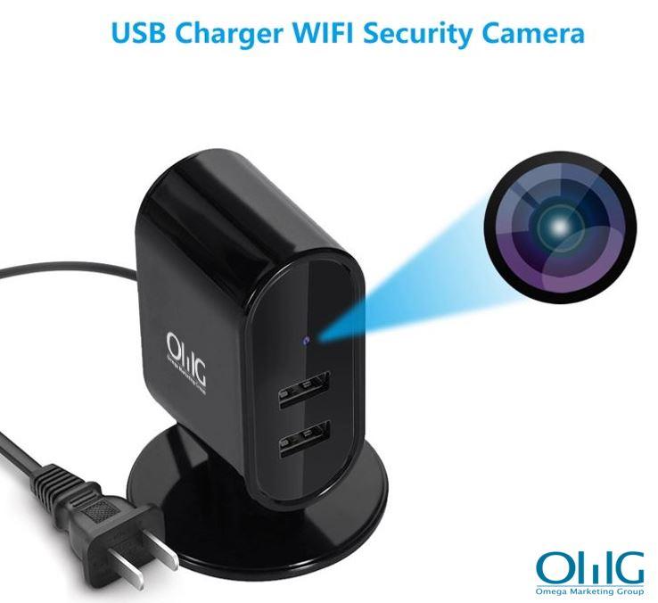 SPY326 - USB Charger WIFI SPY Camera