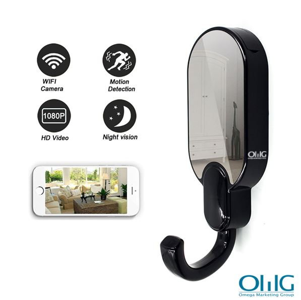 WIFI Hook Camera DVR, HD1080P, Night Vision, Motion Detection