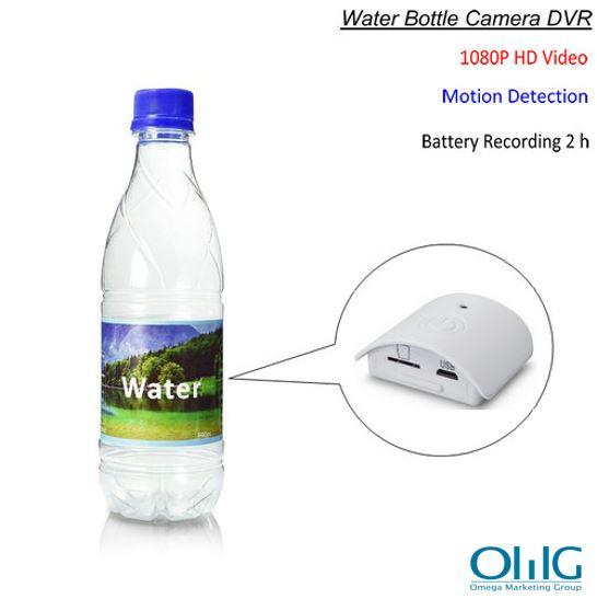 Water Bottle Camera, HD 1080P, Pagkita sa Paggalaw, Oras sa Pagrekord sa Baterya 2 nga oras