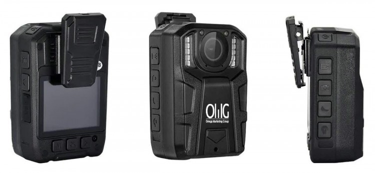 BWC061 – OMG Long Hours [16 Hrs] Recording Body Worn Camera - Different View
