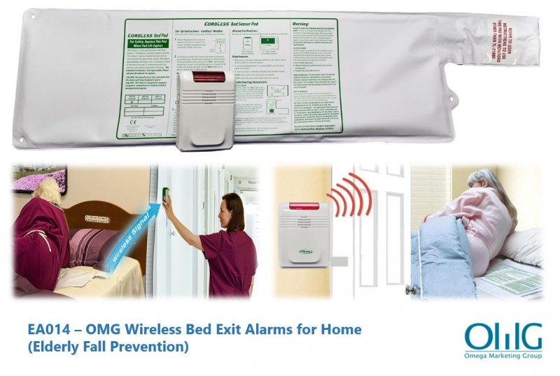 EA014 – OMG Wireless Bed Exit Alarms for Home (Elderly Fall Prevention) - Image