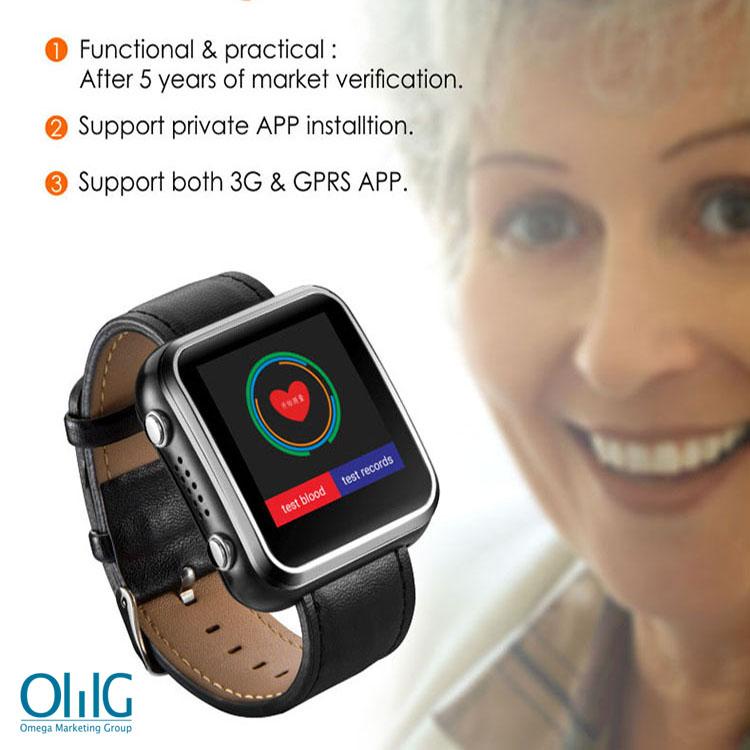 lderly Health Monitoring GPS Tracker Watch - 1