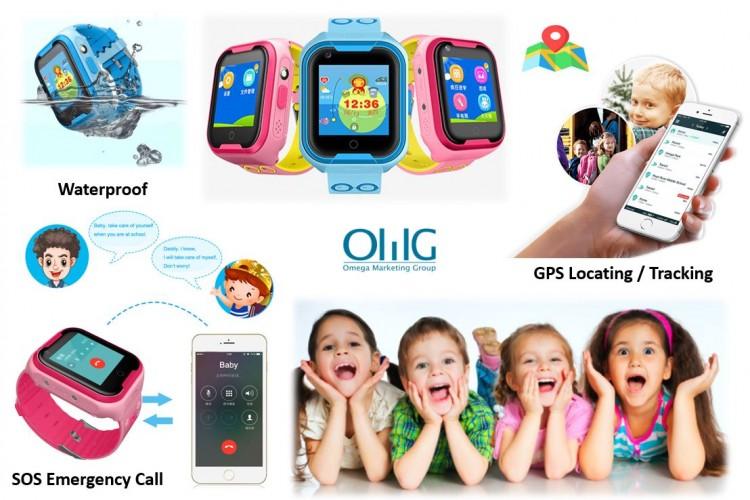 GPS031W - Waterproof SOS GPS Call Watch for Kids