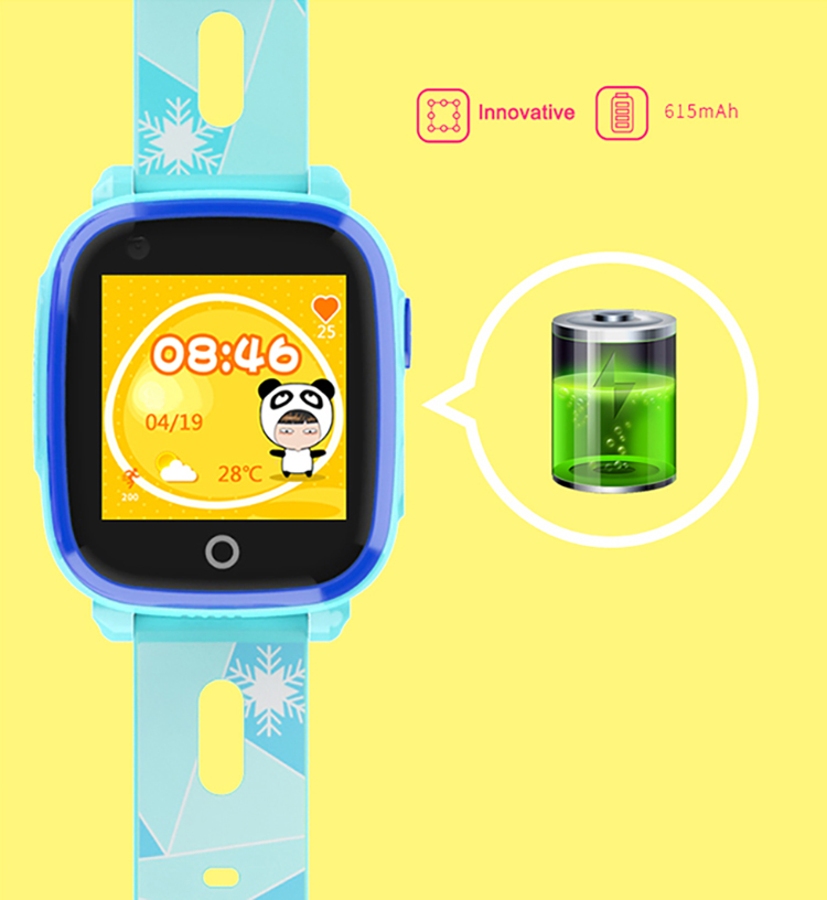 GPS032W - Waterproof SOS GPS Call Watch for Kids - Battery Life
