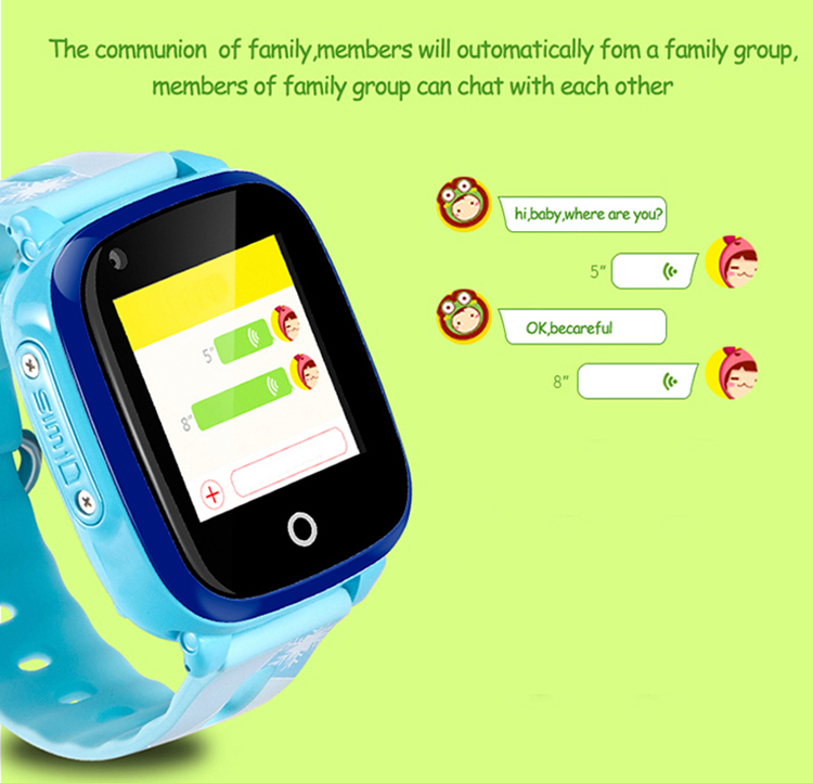 GPS032W - Waterproof Video Call Watch - Vpoce Chat
