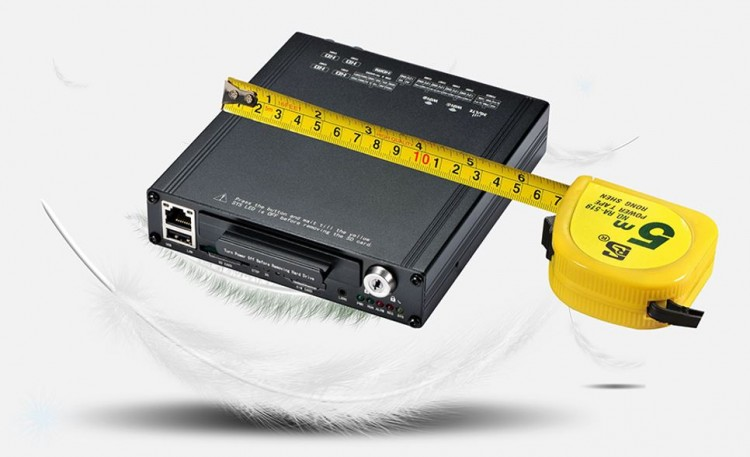 MDVR010 - Ambulance Vehicle Monitoring Solution - Lighter, smaller, and easier to install