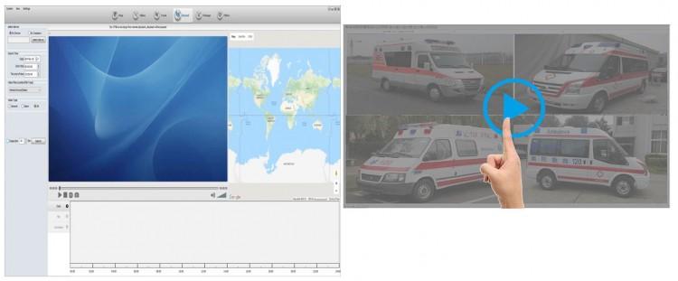MDVR010 - Ambulance Vehicle Monitoring Solution - Remote Video Playback - Download