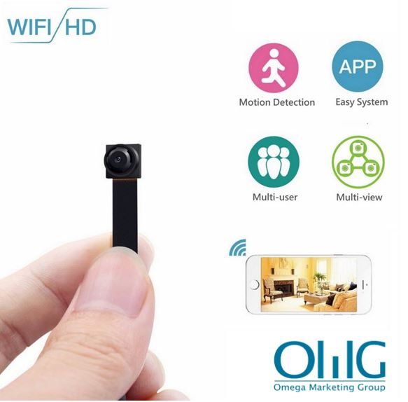 Mini Wireless WIFI Spy Hidden Camera