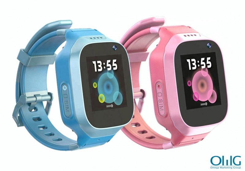 GPS029W - OMG Waterproof GPS Watch For Kids