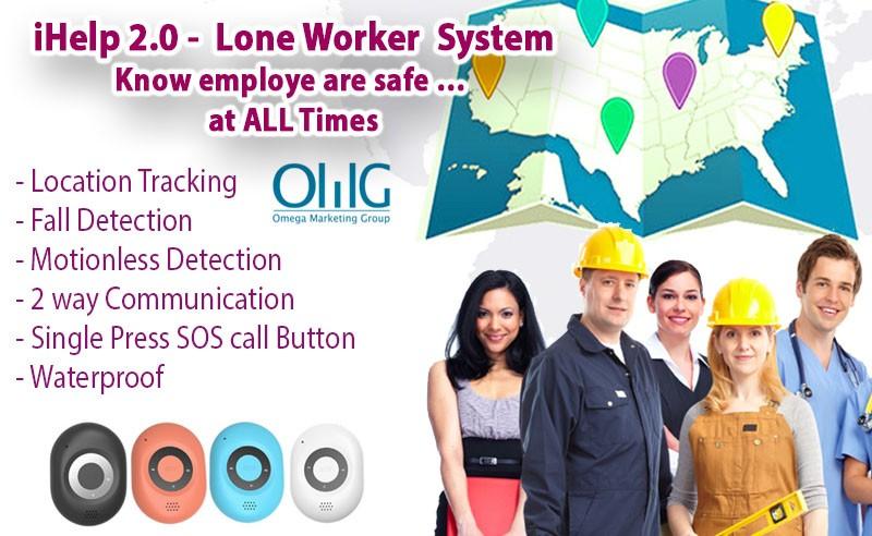 iHelp-versie 2 - Man Down-systeem - Oplossing voor werknemersveiligheid voor medewerkers