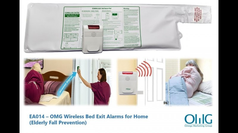 EA014 – OMG Wireless Bed Exit Alarms for Home (Elderly Fall Prevention)