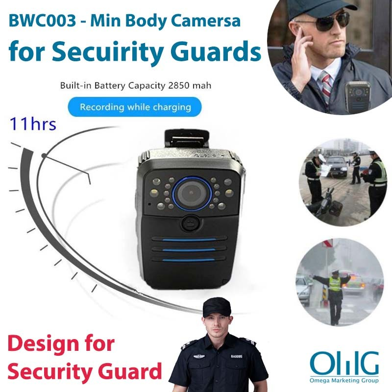 BWC003 - Min Body Camersa for Security Guards