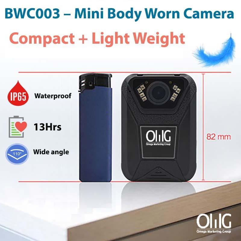 BWC003 - OMG Mini Police Body Worn Camera