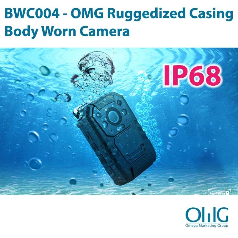 BWC004 - OMG Ruggedized Casing Police Body Worn Camera
