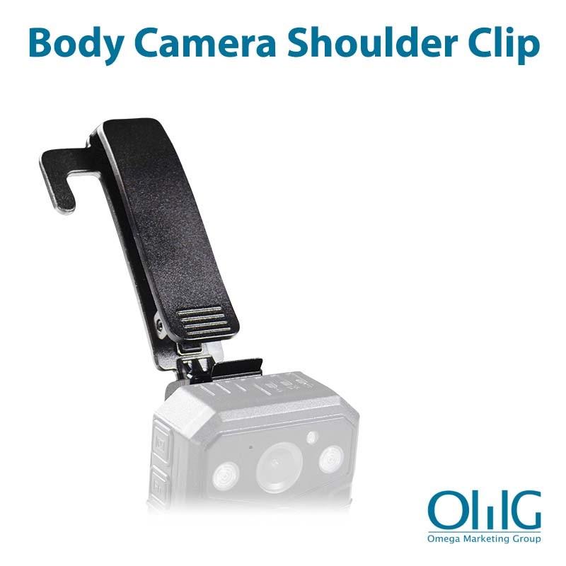BWC004-SC - Police Body Worn Camera - Accessories - Shoulder Clip - Main View